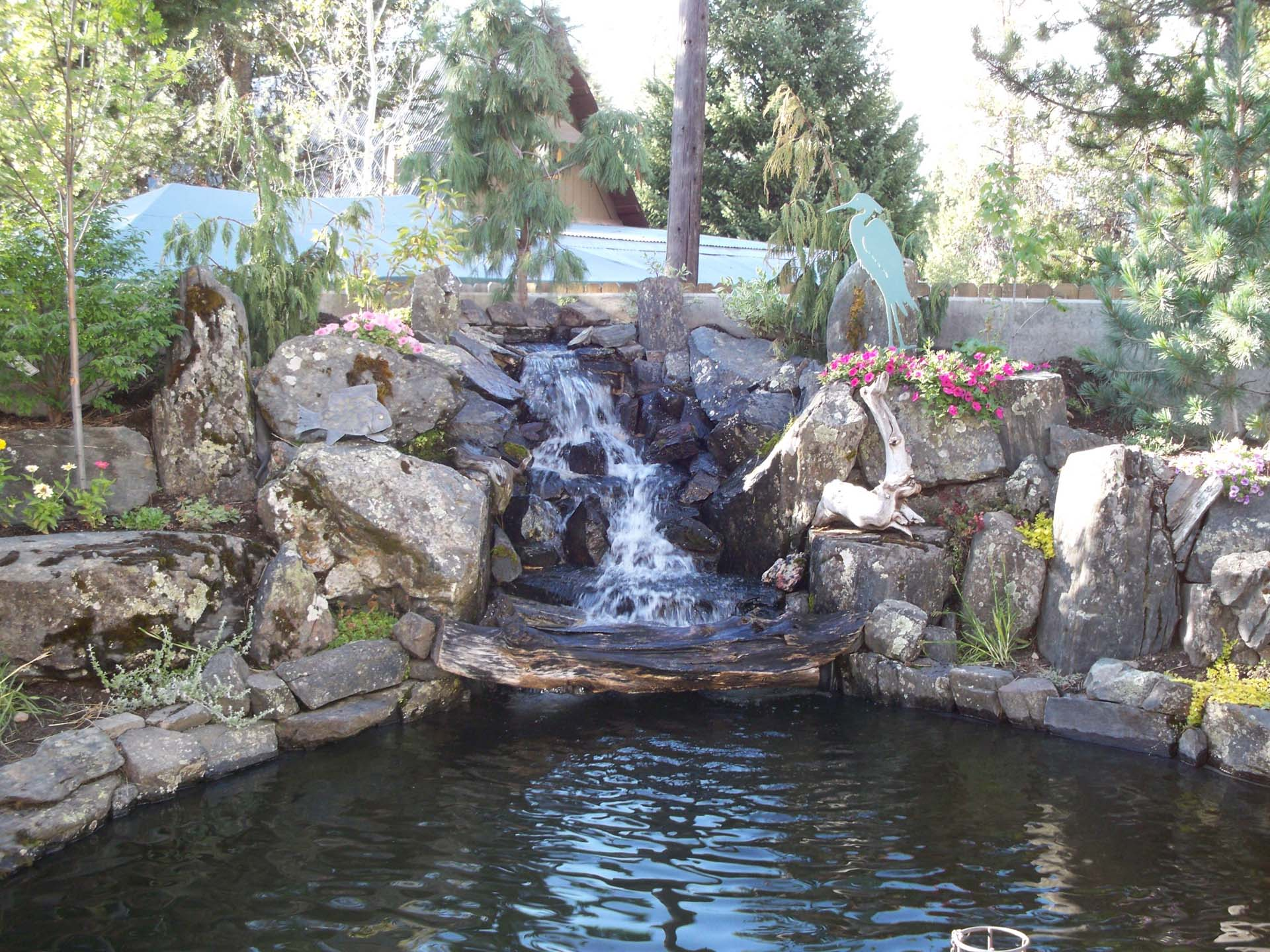 Landscape construction buzz baker general contracting llc for Koi pond contractors
